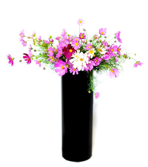 細長い花器
