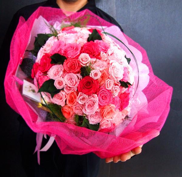 ブリザードフラワー花束